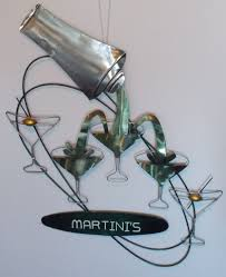 martini olive art martini u0027s bar sign metal 3d cocktail shaker glasses martini olive