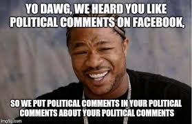How To Put A Meme On Facebook Comments - lincoln political opinions imgflip