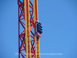 Superman Ride Six Flags Superman Testing Resumed Today At Six Flags Magic Mountain The