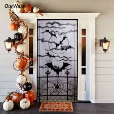 online shop ourwarm halloween decorations props spiderweb lace