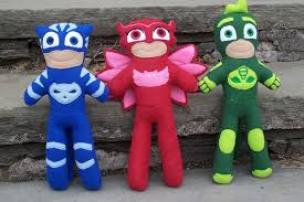 pj masks fleece dolls hard freebies2deals