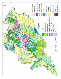 map use vegetation and land use map of orissa