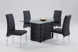 Modern Black Dining Room Sets by Modern Dining Room Tables Solid Wood Tedxumkc Decoration
