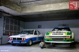 mazda car and driver collections inside mazda north america s basement japanese