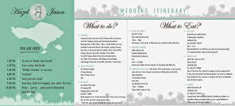 wedding card malaysia crafty farms handmade e itinerary design