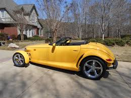 1999 plymouth prowler low miles used plymouth prowler for