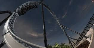 Viper Roller Coaster Six Flags Full Throttle Speeding Into Six Flags Magic Mountain In 2013