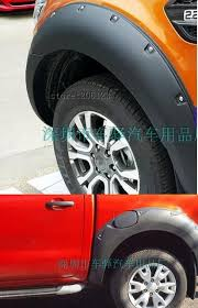 Ford Ranger Interior Accessories 2015 2017 Fender Flare For Ford Ranger Wildtrak Accessories Black