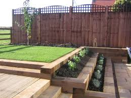 Railway Sleepers Garden Ideas Landscaping Designs Garden Landscaping Railway Sleepers