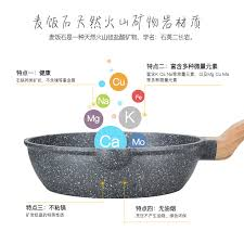 Swiss Induction Cooktop Switzerland Wok Non Stick Pot Medical Stone Frying Pan Pan Cooking