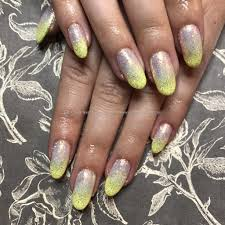 eye candy nails u0026 training cuccio gel overlays with yellow gel