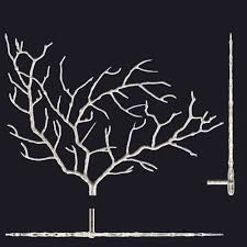 metal tree branch wall sculpture 3d cgtrader