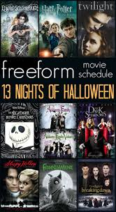 halloween movies on abc family