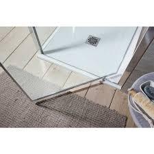 simpsons edge pivot shower door u0026 optional side panel simpsons