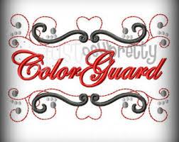 color guard etsy