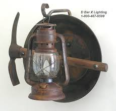 Lantern Wall Sconce Dx804 Rustic Lantern Light Fixture With Lantern Miners
