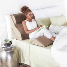 pillow for watching tv in bed avana kind bed orthopedic support pillow comfort system buy now