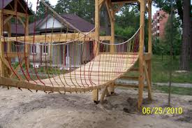 cool suspension bridge for play structure camp gypsy moon