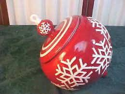 real home snowflake designed ornament shaped earthenware