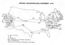 Pentagon Map Arpanet Technical Information Geographic Maps
