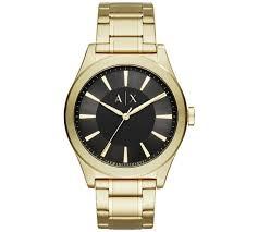 gold armani bracelet images Buy armani exchange men 39 s ax2328 gold tone bracelet watch men 39 s