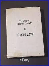 eyvind earle christmas cards complete christmas card of eyvind earle edition artist