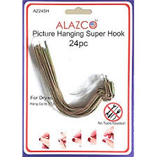 amazon com monkey hook picture hanger home and office pack 30 pc