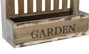 picket fence planter wood wooden garden planters box