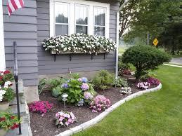 flower garden design ideas small flower garden in front of house