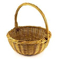 wicker easter baskets center willow easter basket