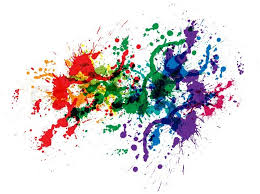 color and paint color paint splashes stock vector colourbox