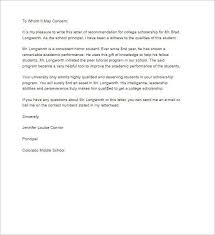 College Letter Of Recommendation From Recommendation Letter Template Free Word Pdf Format Creative