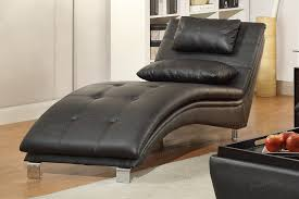 Ideas For Leather Chaise Lounge Design Duvis Black Leather Chaise Lounge A Sofa Furniture Outlet