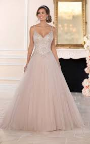 wedding dressed wedding dresses beaded tulle ballgown wedding dress stella york