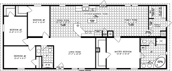 4 Bedroom Floor Plans For A House Large Manufactured Homes Large Home Floor Plans