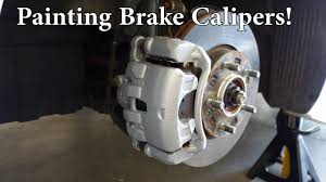 how to paint brake calipers dupli color youtube