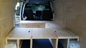 camper van layout toyota hiace campervan build progess update album on imgur