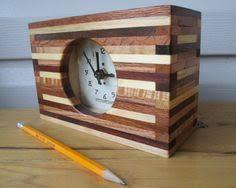 hand made wood clock handmade solid wood clock quartz movement
