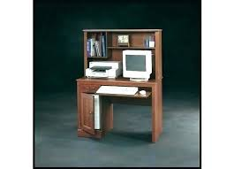 Corner Computer Desk Cherry Sauder Corner Computer Desk Furniture In Cinnamon