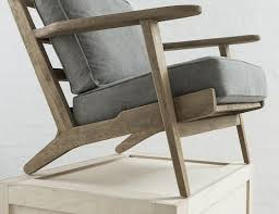 Danish Chairs Uk Mid Century Modern Danish Style Armchair From Swoon Editions