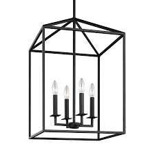 Carriage Lights Lowes by Shop Sea Gull Lighting Perryton 15 5 In Blacksmith Rustic Single