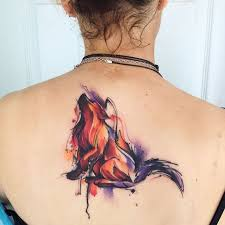 best 25 watercolor wolf tattoo ideas on pinterest watercolor