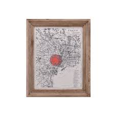 Classic Maps Timothy Oulton Classic Map Tokyo
