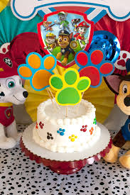 cake diy paw patrol party cake diy your cake in less than 10 minutes