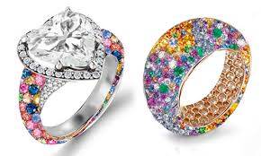 colored engagement rings shop favorite gemstone diamond rings from 350 designs ny