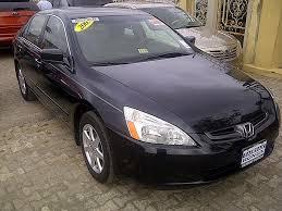 honda accord ex 2004 sparkling tokunbo 2004 honda accord ex l v6 price n1 8m autos