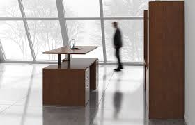 sit to stand desk casegoods indiana furniture