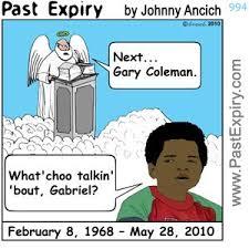 Gary Coleman Meme - past expiry cartoon more cartoon gary coleman