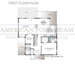 Post And Beam Floor Plans The Strafford Vermont Post And Beam Home American Post U0026 Beam
