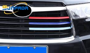 sunfada three colors modified trim paint front grille grill cover